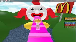 ROBLOX-GO a HAPPY SNACK AI?!?!? (McDonalds Escape)