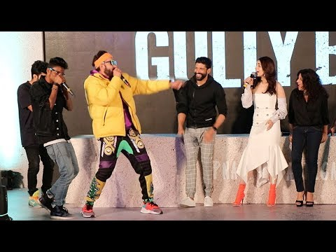 Gully Boys Trailer Launch Complete Video HD-Ranveer Singh,Alia Bhatt,Farhan Akhtar,Zoya Akhtar Mp3