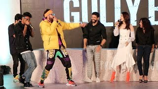 Gully Boys Trailer Launch Complete Video HD-Ranveer Singh,Alia Bhatt,Farhan Akhtar,Zoya Akhtar