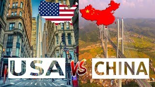 USA VS China Comparison 2018 || Which country is better