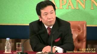 枝野幸男 経済産業相 2012.10.15