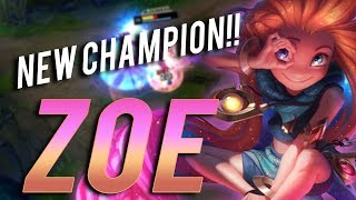 ZOE IS THE MOST BROKEN CHAMPION EVER MADE!! - Trick2G