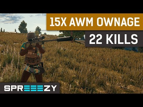 22 Kills 15x Scope AWM OWNAGE
