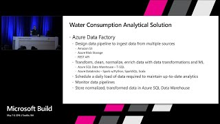 Develop scalable analytical solutions with Azure Data Factory & Azure SQL Data Warehouse