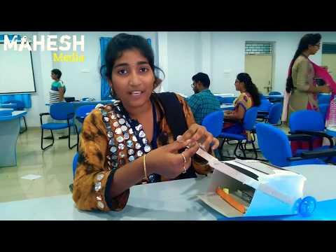 ISB Design thinking workshop 2017@MIC college in Vijayawada|| KITS Guntur &MIC students participated