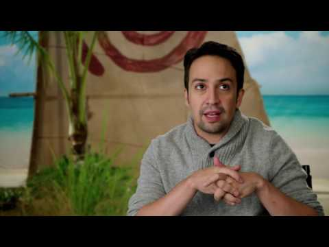 Moana: Songwriter Lin-Manuel Miranda Behind the Scenes Movie Interview