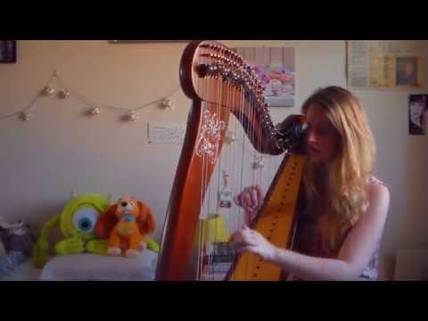 Faded - Alan Walker (Harp Cover)