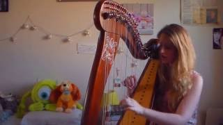 Faded - Alan Walker (Harp Cover)
