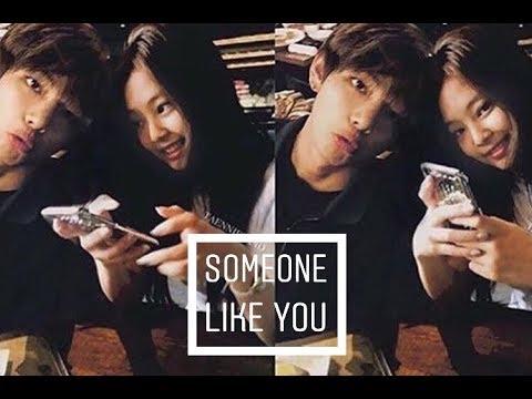 🌼Taennie🌼 Jennie (blackpink) & Taehyung (bts) • Someone Like You • [fmv]