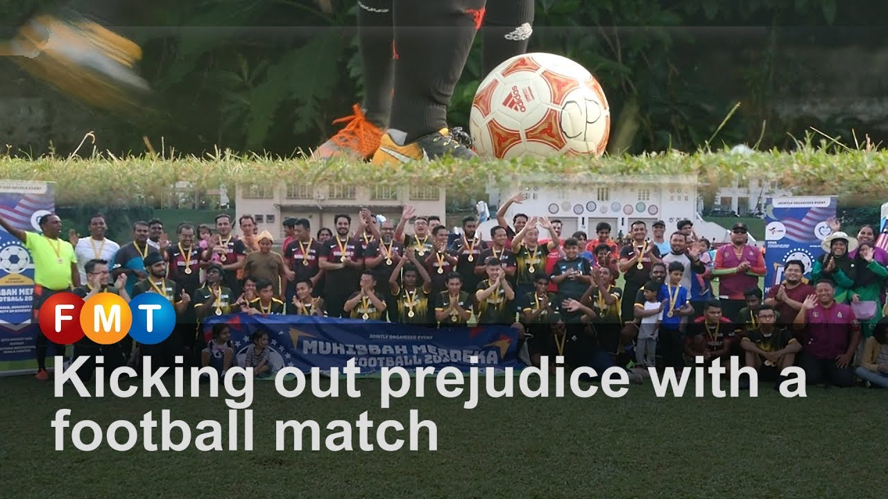Kicking out prejudice with a football match