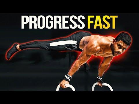 How To Progress Fast In Calisthenics (My BEST Methods)