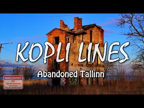 Kopli Liinid - Abandoned District of Tallinn. Коплиские линии в Таллине.