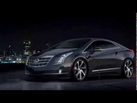2014 All New Cadillac ELR Extended Range Electric Coupe