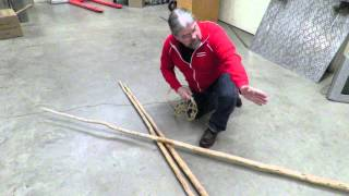 Pitching a 3-Pole Tipi