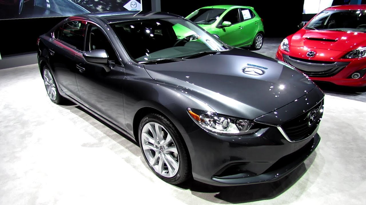 2014 Mazda 6 SkyActiv Exterior and Interior Walkaround  2013