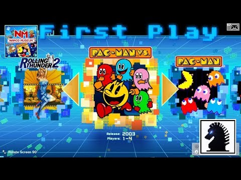 NS First Play - Namco Museum - Pac-Man Vs.