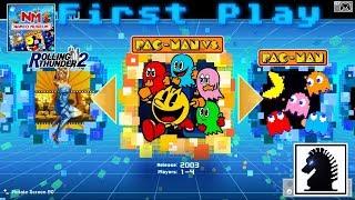 NS First Play - Namco Museum - Pac-Man Vs.