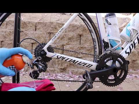 How to Clean and lube a Bike Chain (Easy Way) Specialized Tarmac