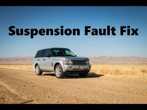 Suspension Fault Fix - 06-09 Land Rover Range Rover HSE L322