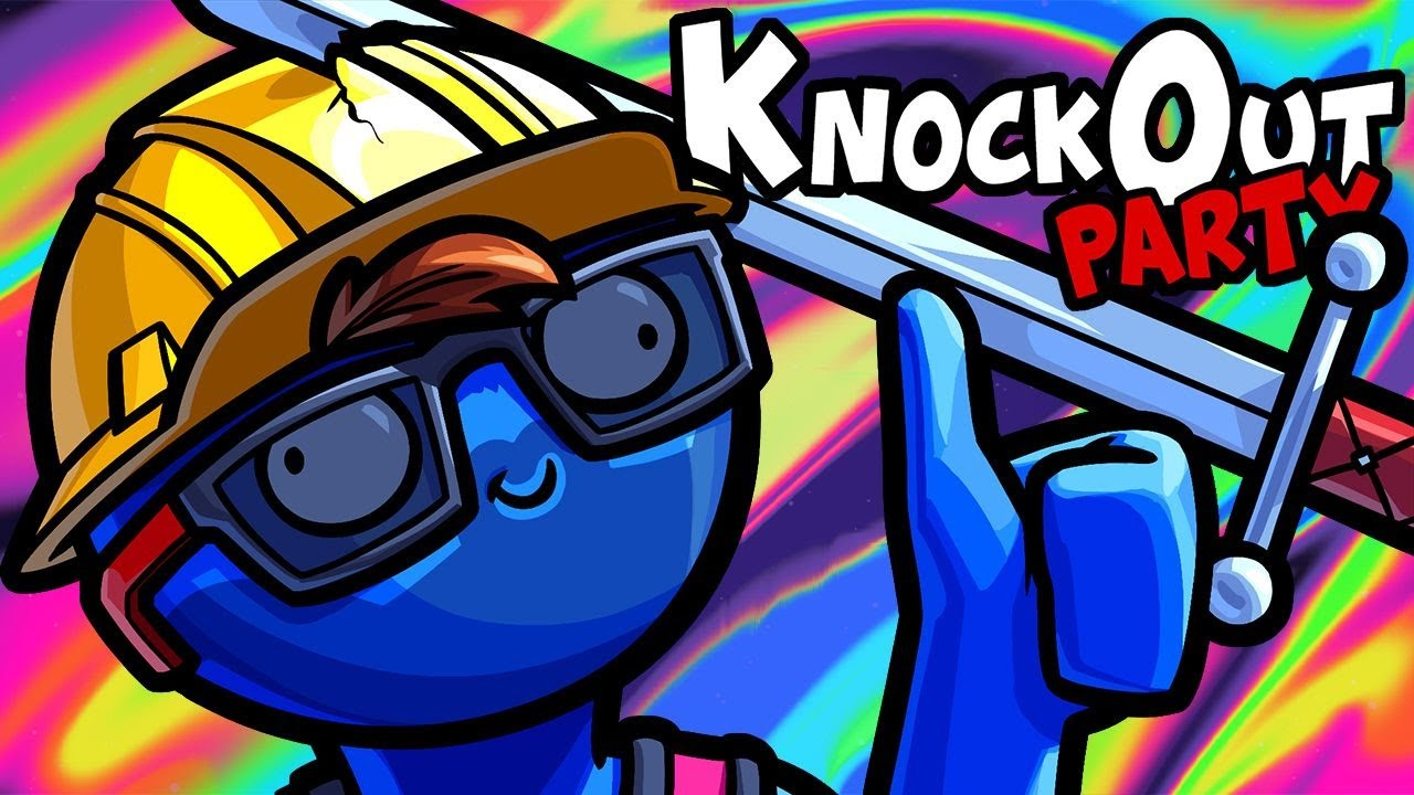 KnockOut Party Funny Moments - Nogla Forced Us To Play This Game!