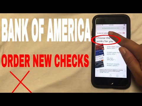 ✅  3 Ways To Order Bank Of America Replacement Checks 🔴