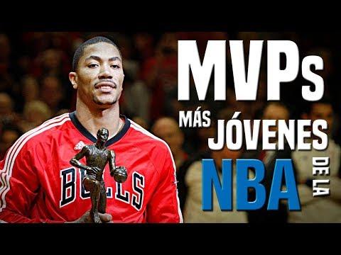 TOP MVPs MÁS JÓVENES DE LA NBA | El Rincón del Triplista