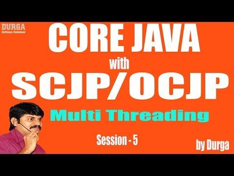 Core Java with OCJP/SCJP: Multi Threading Part-5 || yield() || join()