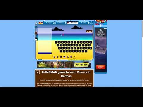 LGO: German Games - Learn German Online