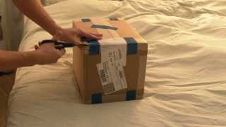 Распаковка посылки SPSR-Экспресс из США с NVidia Shield