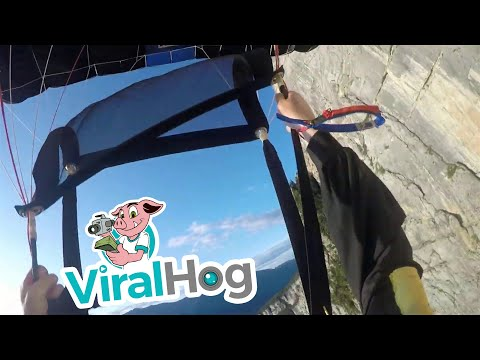 Watch This Terrifying POV Footage of a BASE Jump Gone Wrong