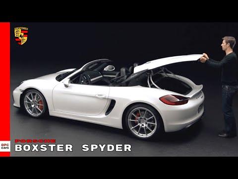 Porsche Boxster Spyder 981 Explained