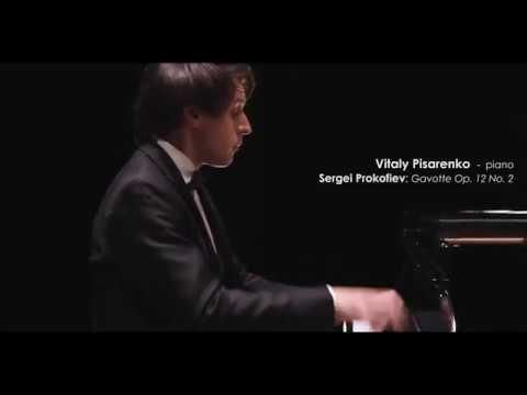Vitaly Pisarenko plays Prokofiev Gavotte op. 12 No. 2