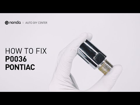 How to Fix PONTIAC P0036 Engine Code in 2 Minutes [1 DIY Method / Only $19.64]