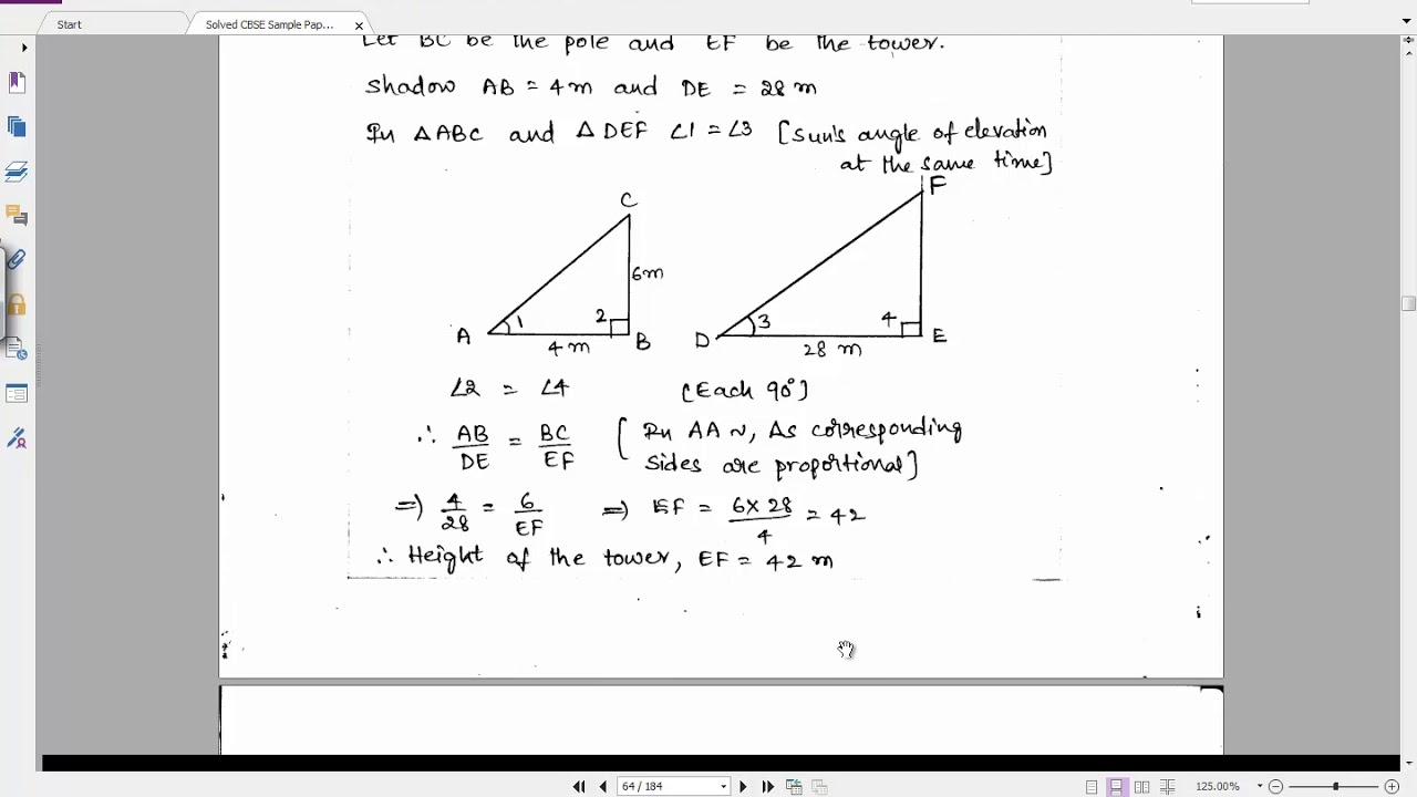 Solved CBSE Sample Paper 3 for Class 10 Maths | Important Questions for  Class 10 Maths