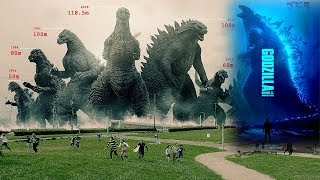 How Big Is Godzilla in King of the Monsters? Legendary Godzilla Size Comparison