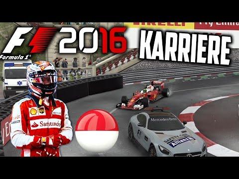 F1 2016 KARRIERE PART 6: DAS ERSTE SAFETY-CAR!! (MONACO) [Deutsch/German]