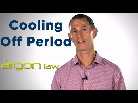 Cooling Off Period::Entering A Contract When Purchasing Property. Sunshine Coast Lawyer- Argon Law