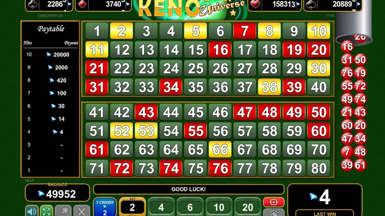 Free Slots Keno