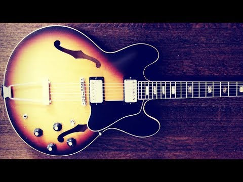 Jazz Blues   Guitar Backing Jam Track (Am)