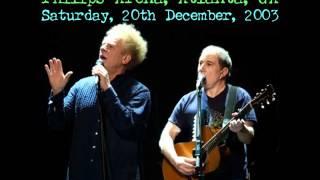 A Hazy Shade Of Winter -- Simon and Garfunkel Philips Arena Live 2003