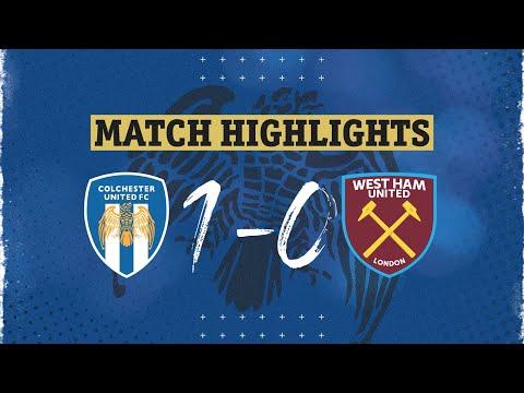 Colchester West Ham U21 Goals And Highlights