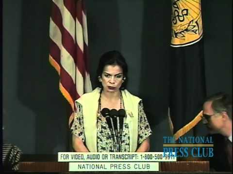 NPC Luncheon with Bianca Jagger