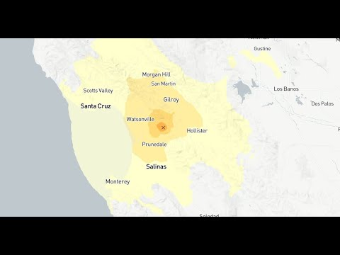 Earthquake: Magnitude 4.2 quake strikes near Prunedale, Calif.