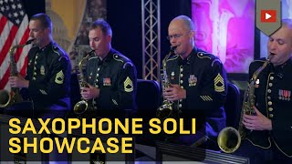 Saxophone Soli Showcase - The Jazz Ambassadors [HD]