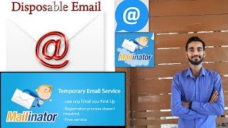 Make a Temporary mail Id (Hindi) | Shubham Dubey