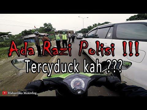 Terabas Razia Polisi | #MotovlogLampung 32