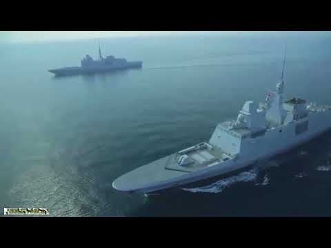 Aquitaine class frigates the most modern of France