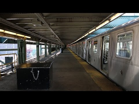 NYC Subway: (N) Trains Terminating at Queensboro Plaza