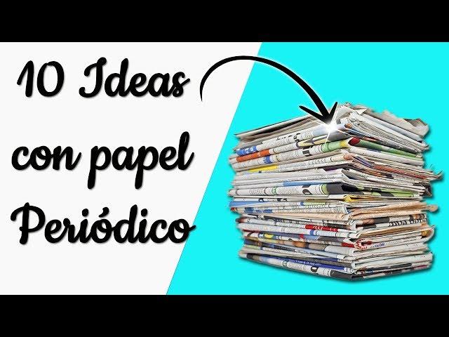 Reciclaje De Papel Periodico