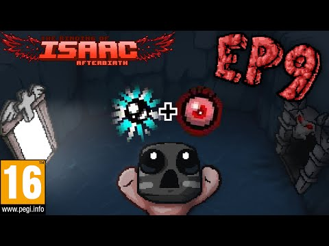 The Binding Of Isaac Afterbirth Ep9, LUCK UP!